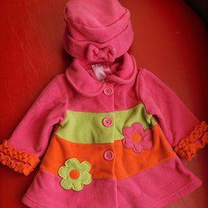 Girl pick pea coat and hat